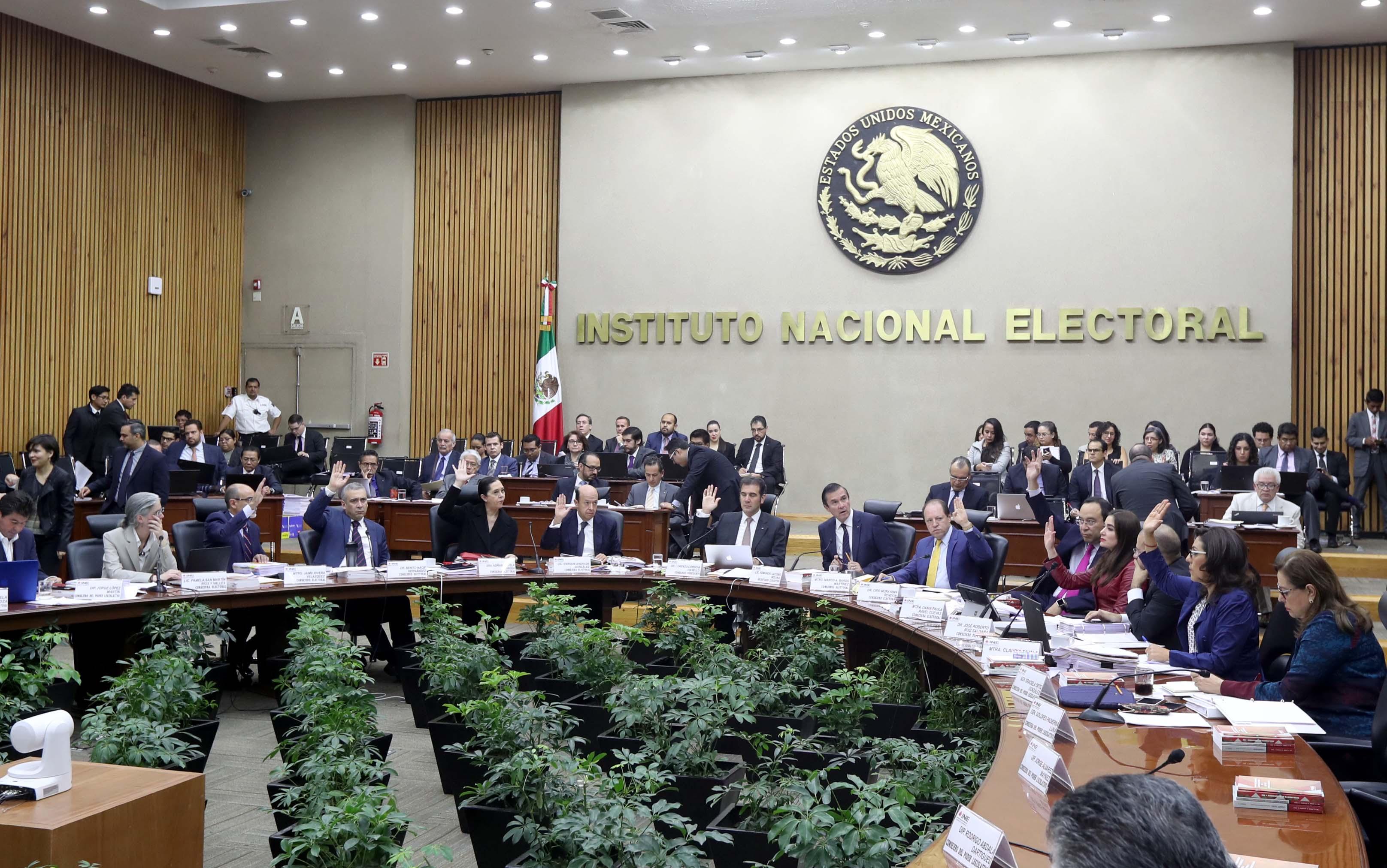 Sesión Extraordinaria del Consejo General, realizada el día 14 de ...