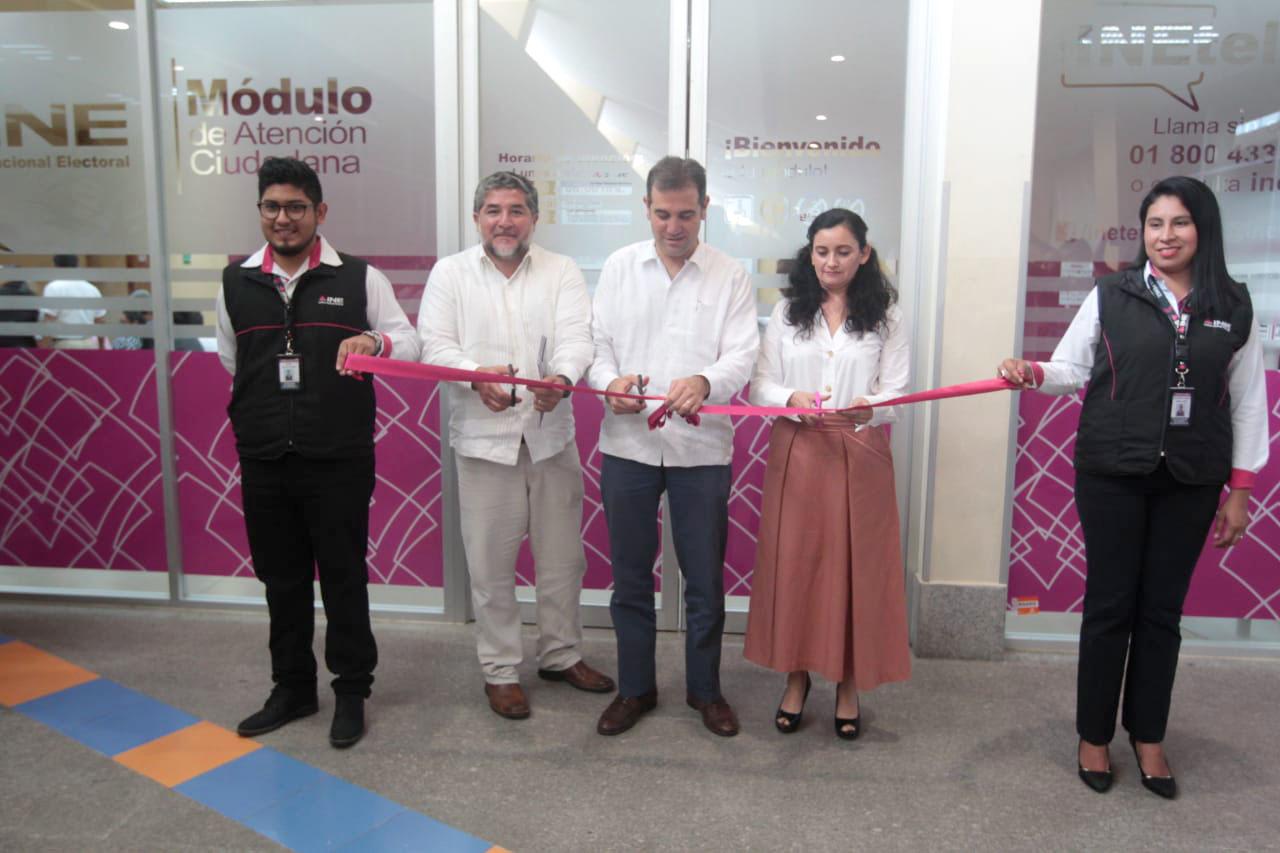 Inaugura Ine Macro Módulo De Atención Ciudadana En Cancún