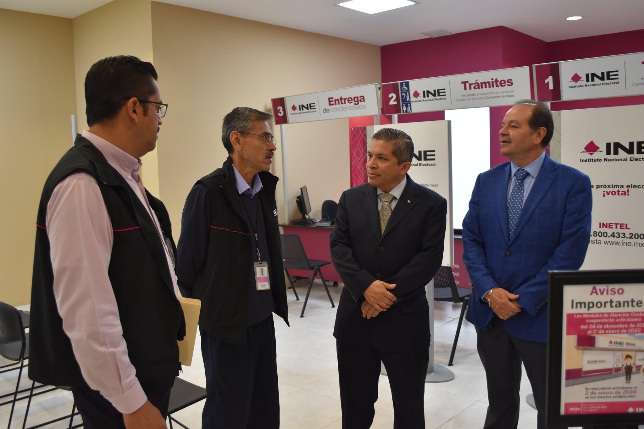 Ine Michoacán Inauguró Módulo De Atención Ciudadana En