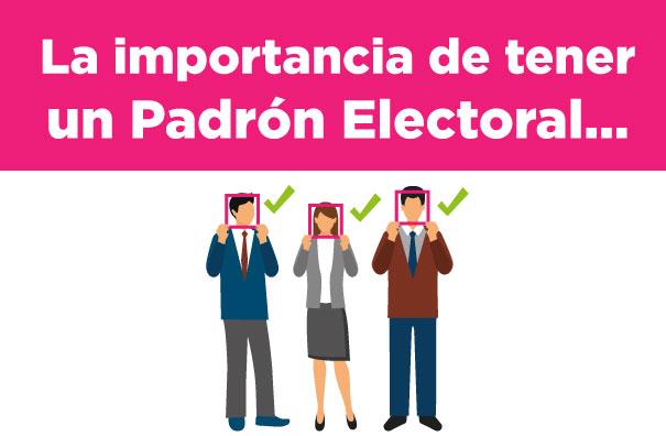 El Padrón electoral es la base de datos más grande y confiable de México -  Central Electoral