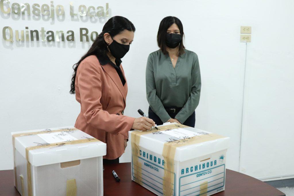 INE Quintana Roo e IEQROO avanzan en las actividades en coordinación en el  Marco del Proceso Electoral concurrente 2020-2021 - Central Electoral